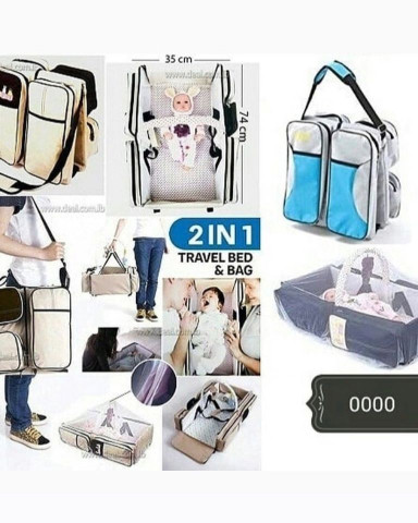 BABY TRAVEL BAG & BED