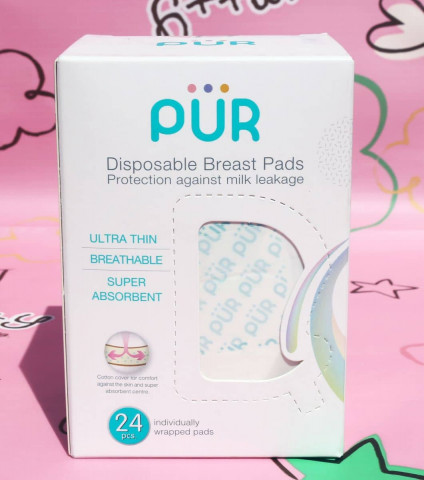 PUR DISPOSABLE BREAST PADS