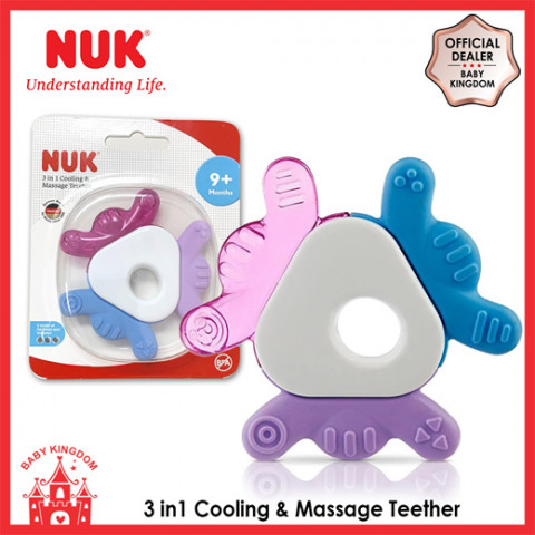 3 IN 1 BABY TEETHER FOR BABY