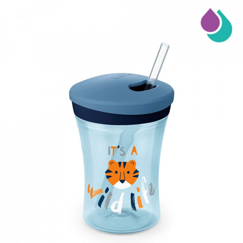 NUK ACTION CUP WITH STRAW