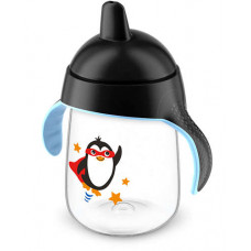 AVENT BABY SIPPY CUP 6M+    BLACK