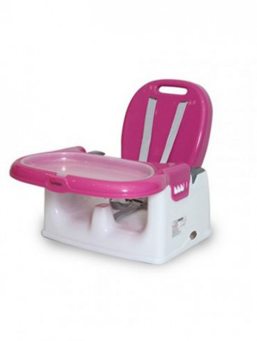 BABY HIGH CHAIR / BOOSTER SEAT - PINK