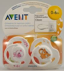 AVENT SOOTHERS 0-6 M