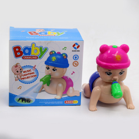 BABY CRAWLING PROJECTION TOY